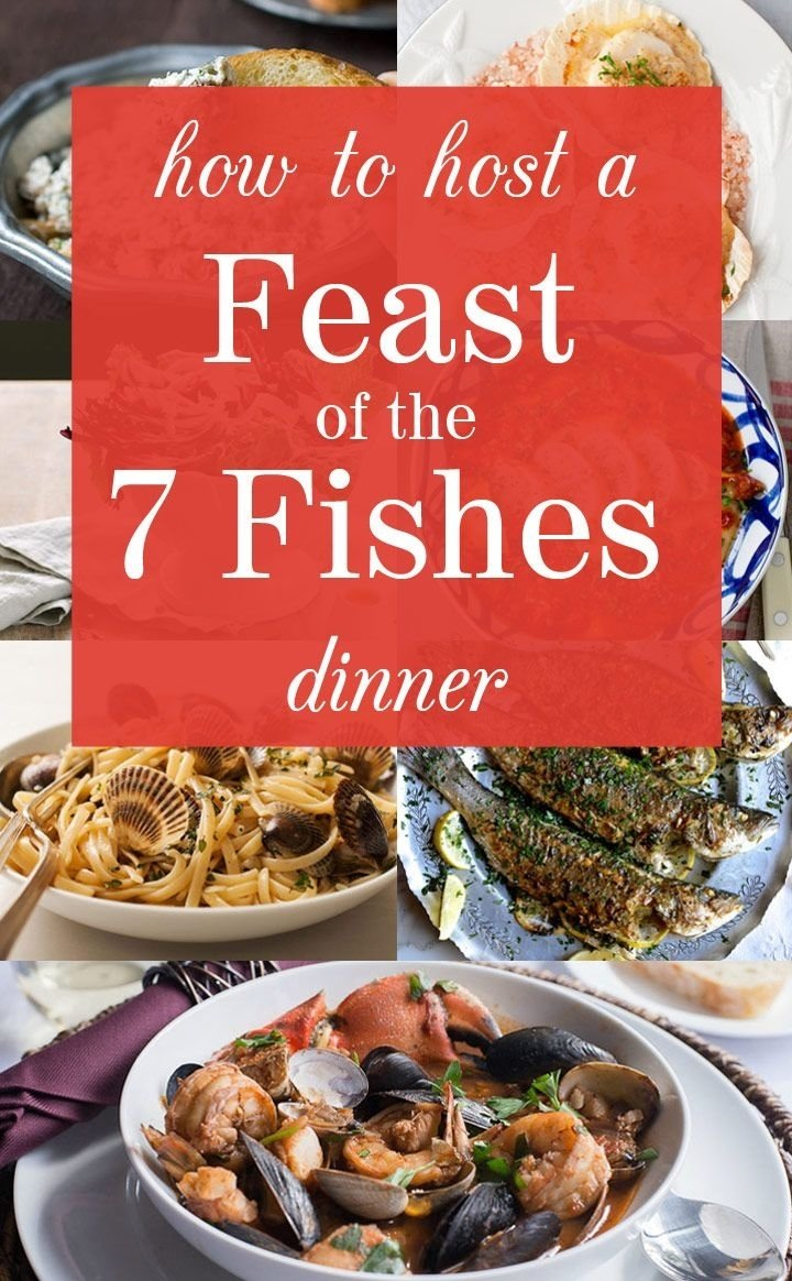 10 Perfect Christmas Eve Fish Dinner Ideas how to host a feast of the seven fishes dinner fish dinner menu