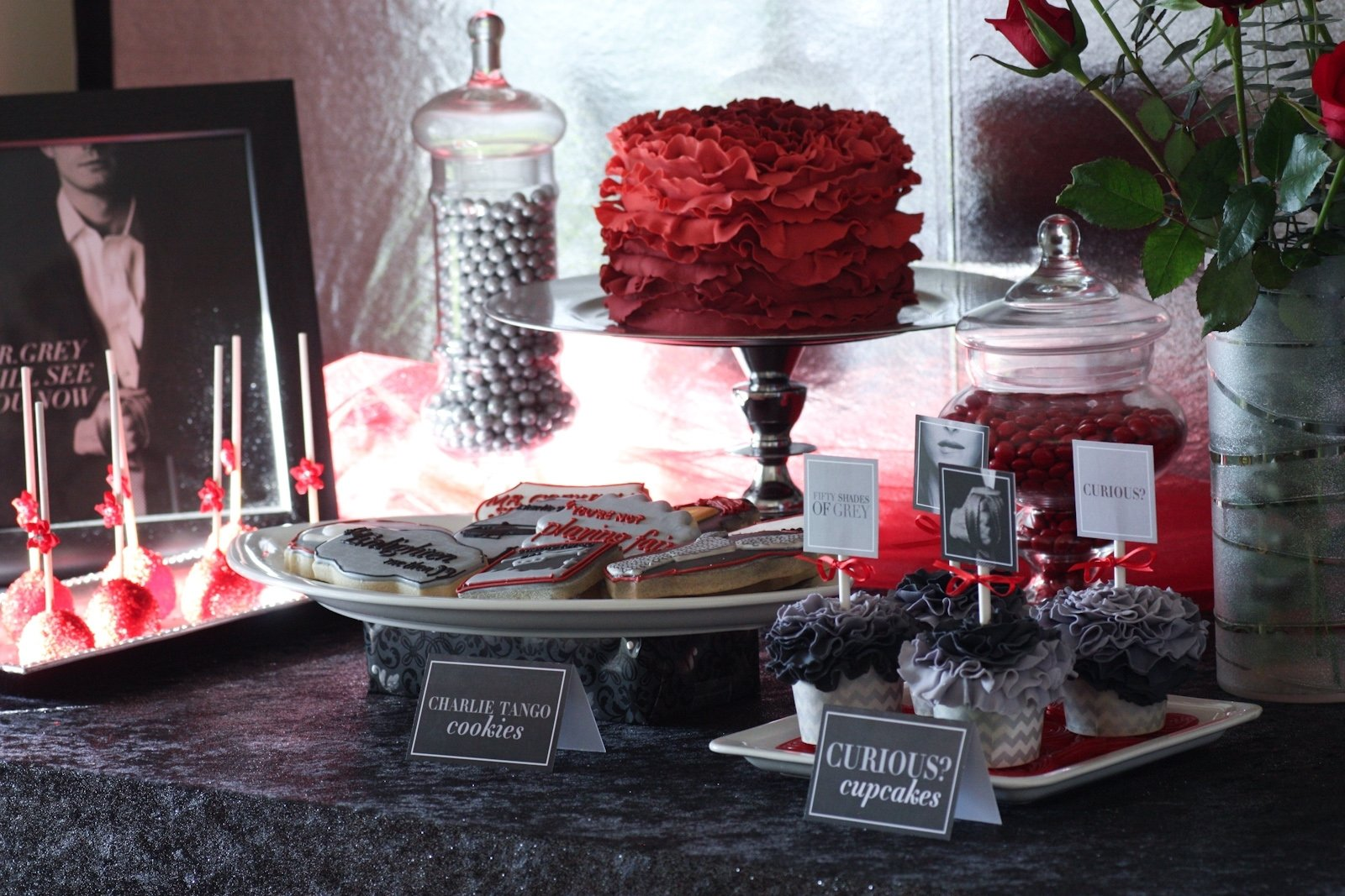 10 Stylish 50 Shades Of Grey Ideas how to host a fifty shades of grey ladies night party free 1