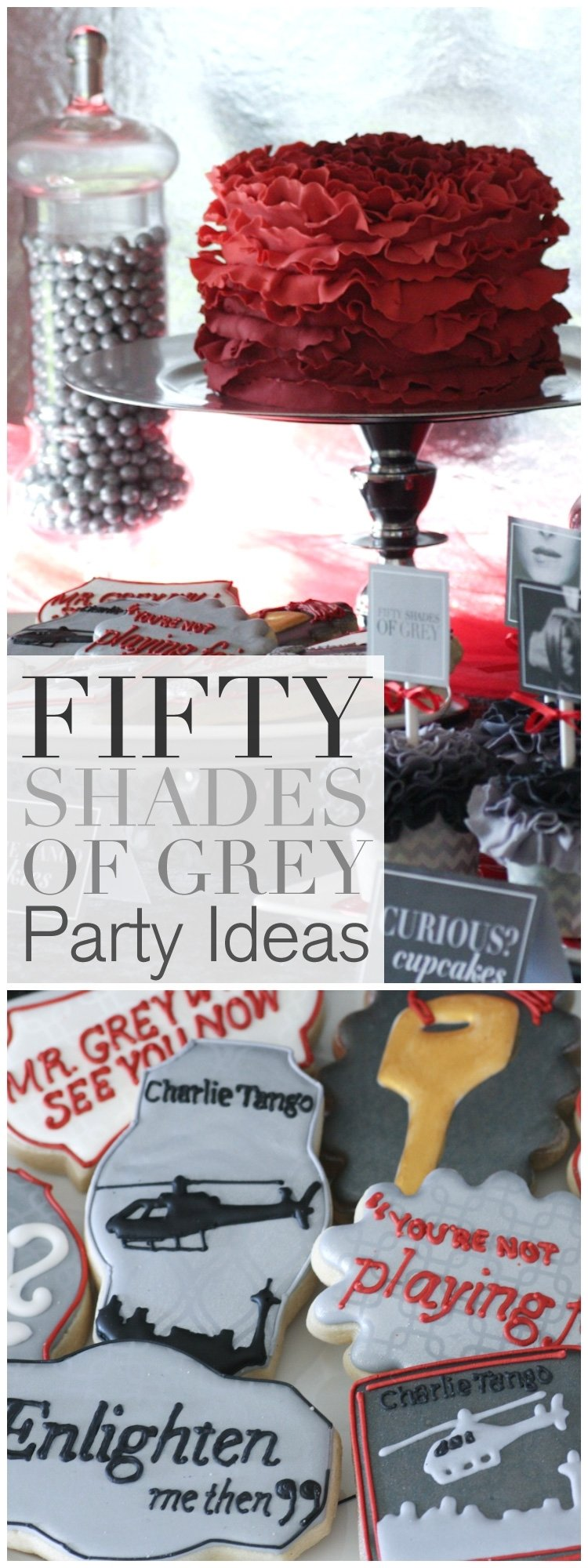10 Stylish 50 Shades Of Grey Ideas how to host a fifty shades of grey ladies night party free 2