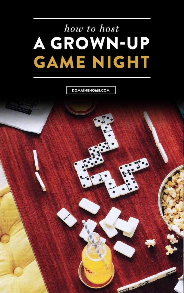10 Fantastic Game Night Party Ideas For Adults how to host a grown up game night game night gaming and dinners 1
