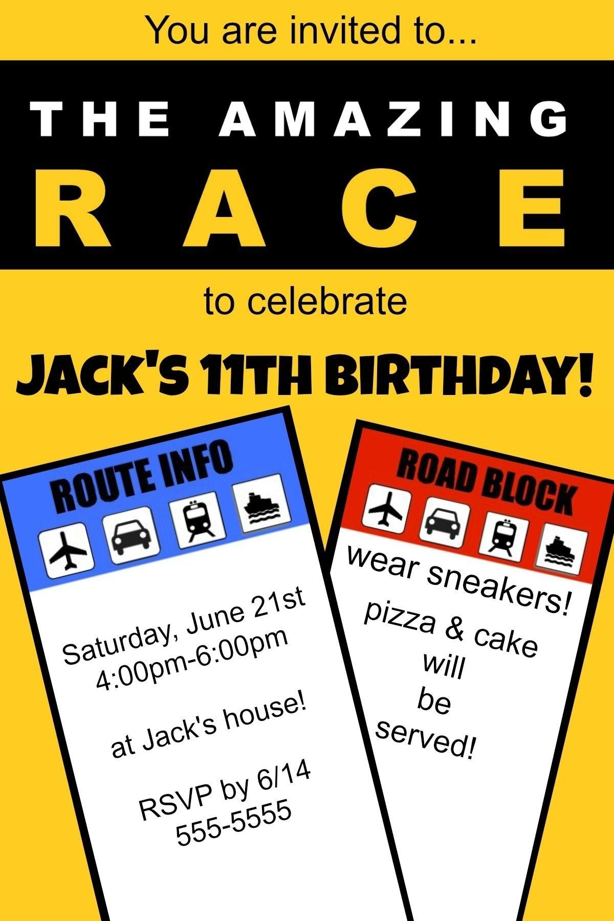 10 Wonderful Amazing Race Birthday Party Ideas how to host an amazing race birthday party at home amazing race 1 2020