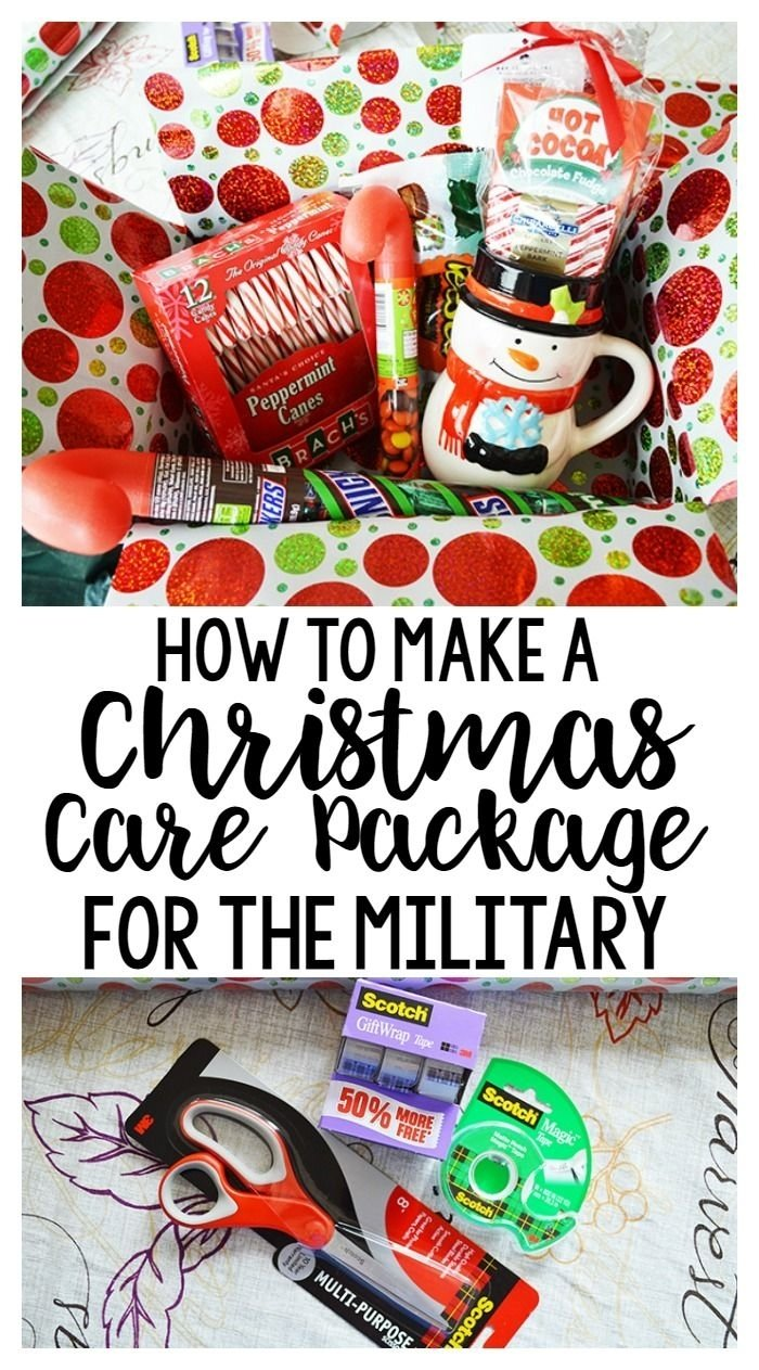 10 Ideal Christmas Care Package Ideas For Soldiers how to make a christmas care package for the military or family far 2021
