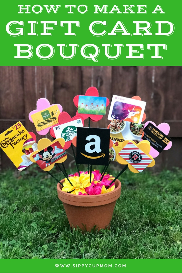 10 Best Gift Card Gift Basket Ideas how to make a gift card bouquet gift card bouquet gift and teacher 2020