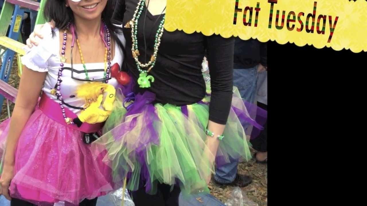 10 Attractive Homemade Mardi Gras Costume Ideas how to make a mardi gras tutu youtube