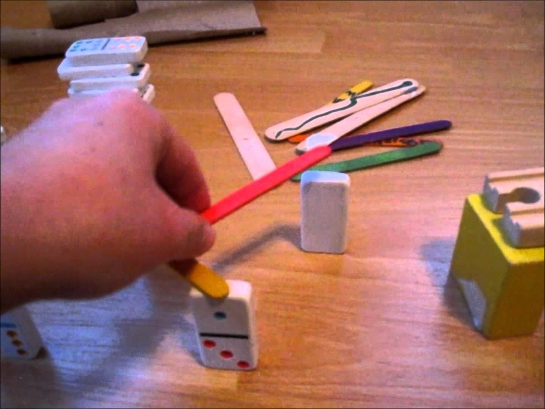 how to make a simple rube goldberg machine - become a beginner - youtube