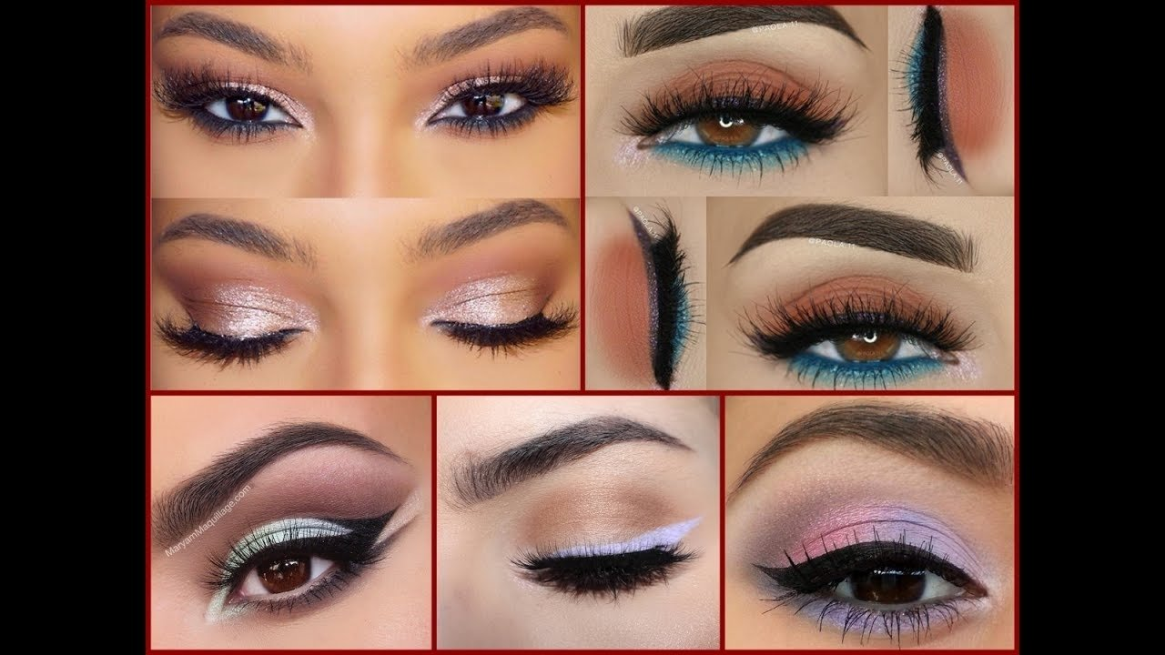 10 Unique Eye Makeup Ideas For Brown Eyes how to make brown eyes best makeup ideas for brown eyes youtube 4 2020
