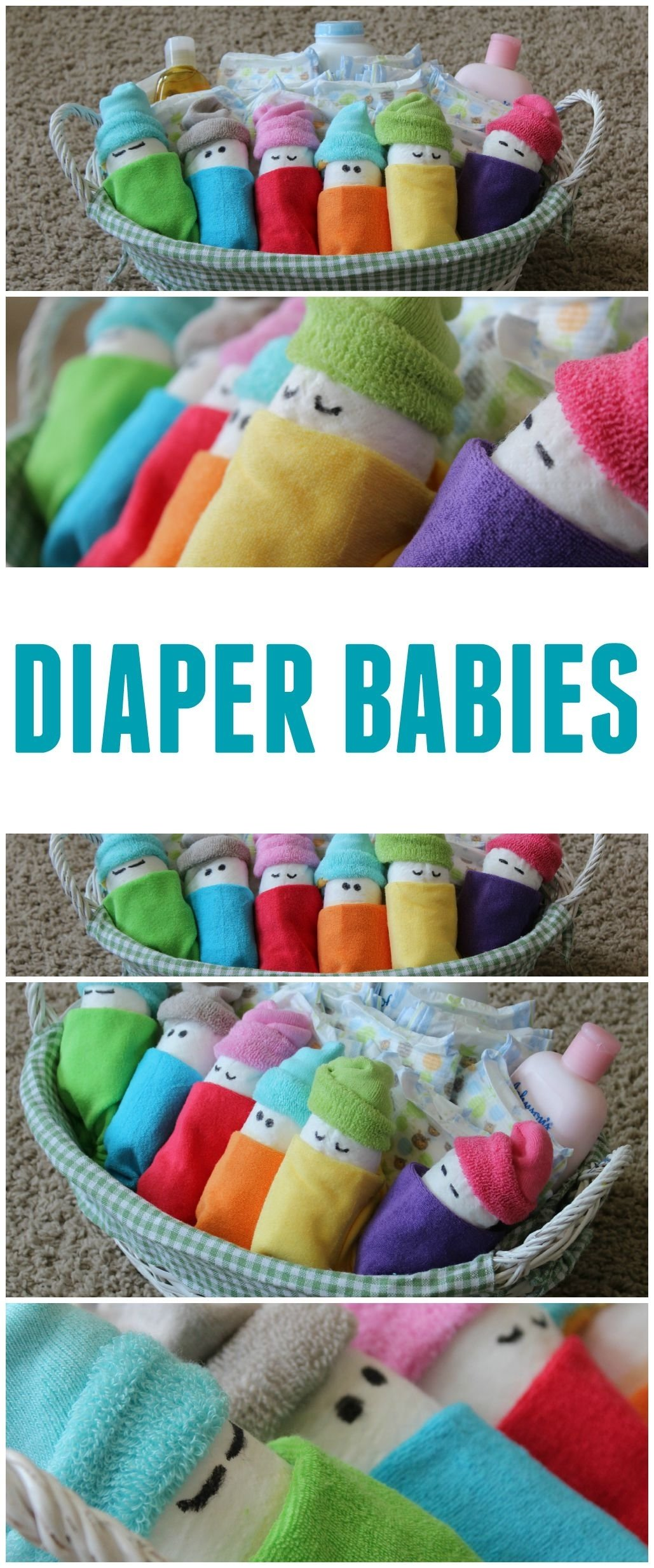10 Pretty Diaper Ideas For Baby Shower Gift how to make diaper babies easy baby shower gift idea frugal fanatic 3 2020