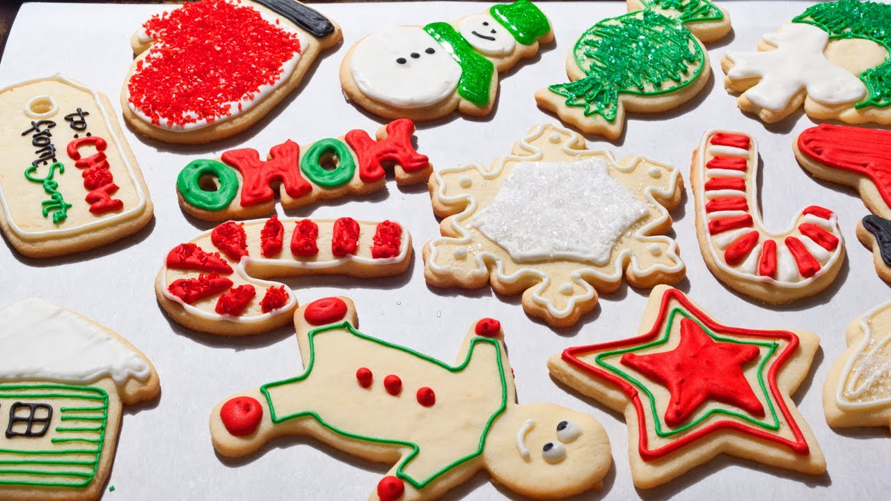 10 Amazing Easy Sugar Cookie Decorating Ideas how to make easy christmas sugar cookies the easiest way youtube 2021