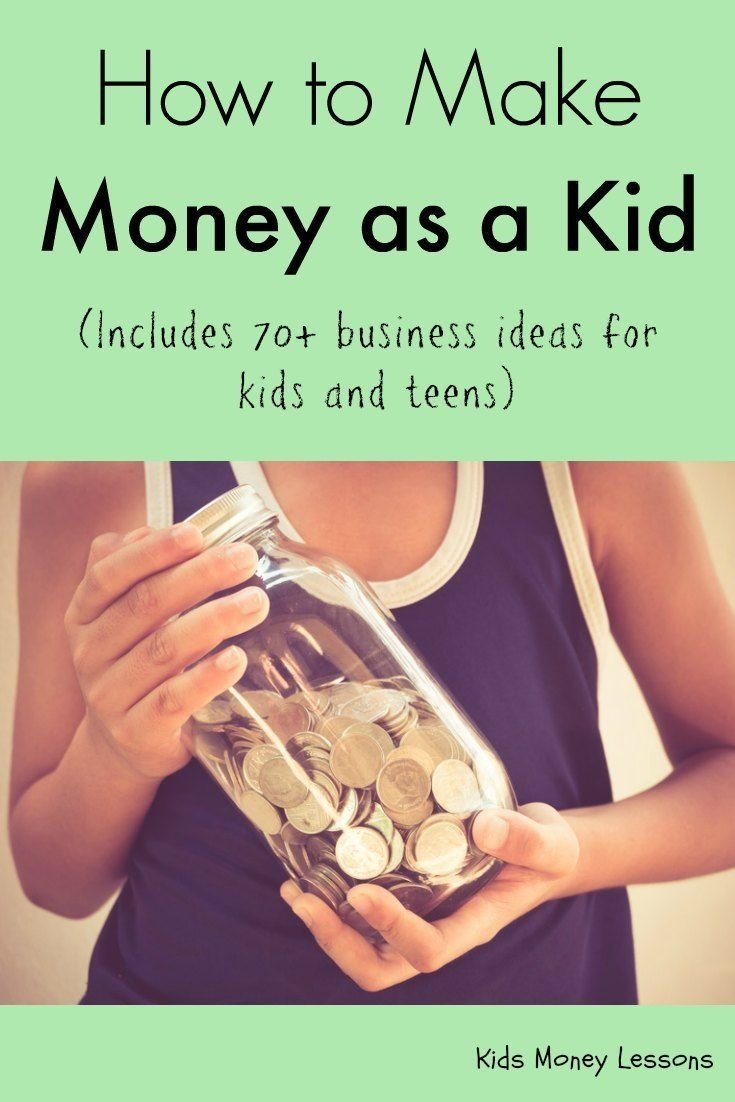 10 Attractive Ideas For Kids To Make Money how to make money as a kid teen business and earn money 1 2020