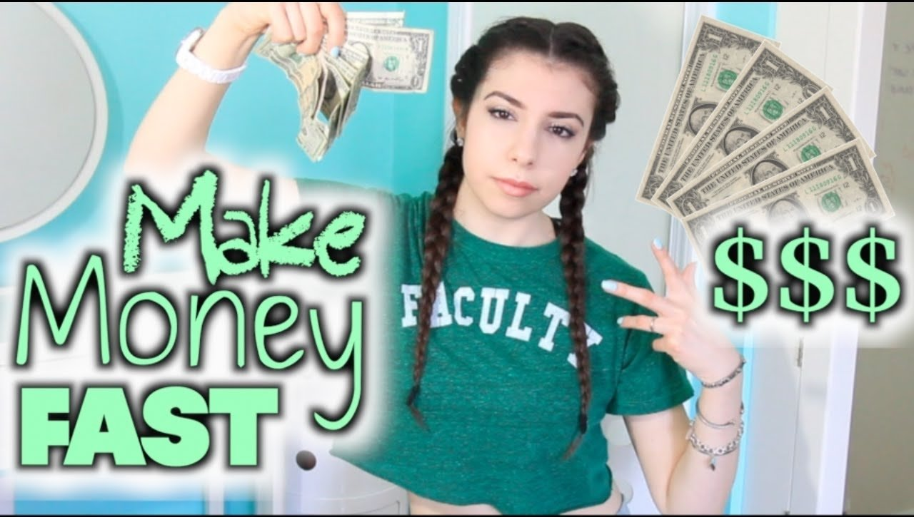 10 Attractive Money Making Ideas For Kids how to make money fast as a teenager kid youtube 2021