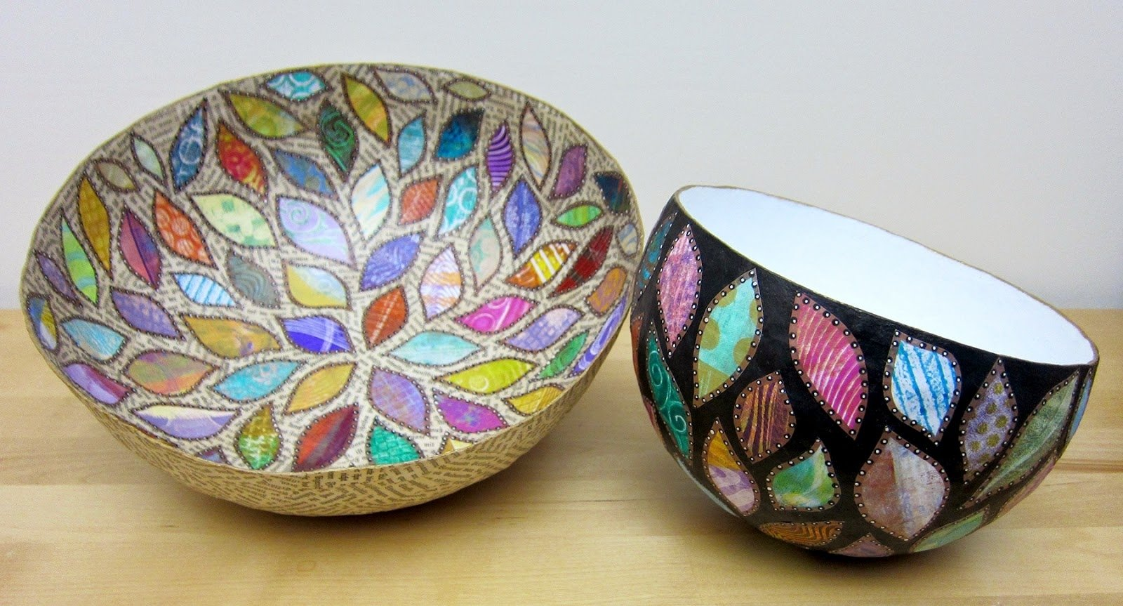 10 Spectacular Paper Mache Ideas For Adults how to make paper mache bowls easy craft ideas