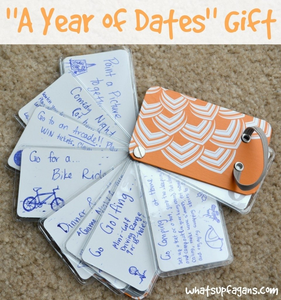 10 Unique Anniversary Date Ideas For Him how to make your own year of dates gift 2021