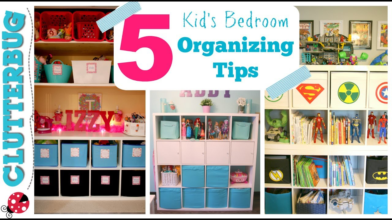 10 Fabulous Organizing Ideas For Kids Rooms how to organize a kids bedroom my 5 best ideas tips youtube 2021