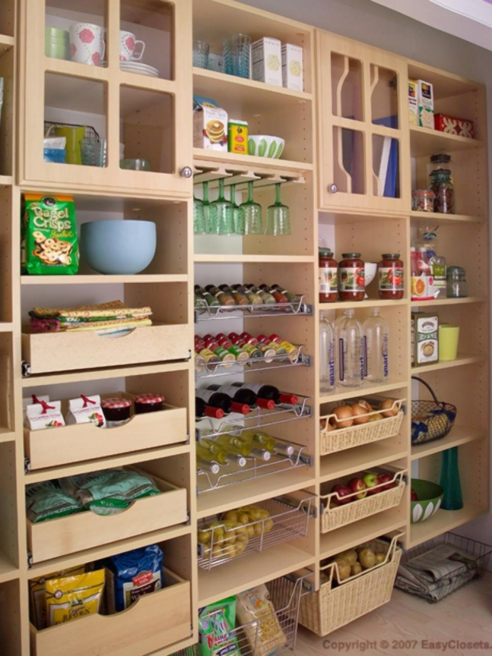 10 Cute Walk In Pantry Design Ideas how to organize a pantry with deep shelves organization diy walk in 2021