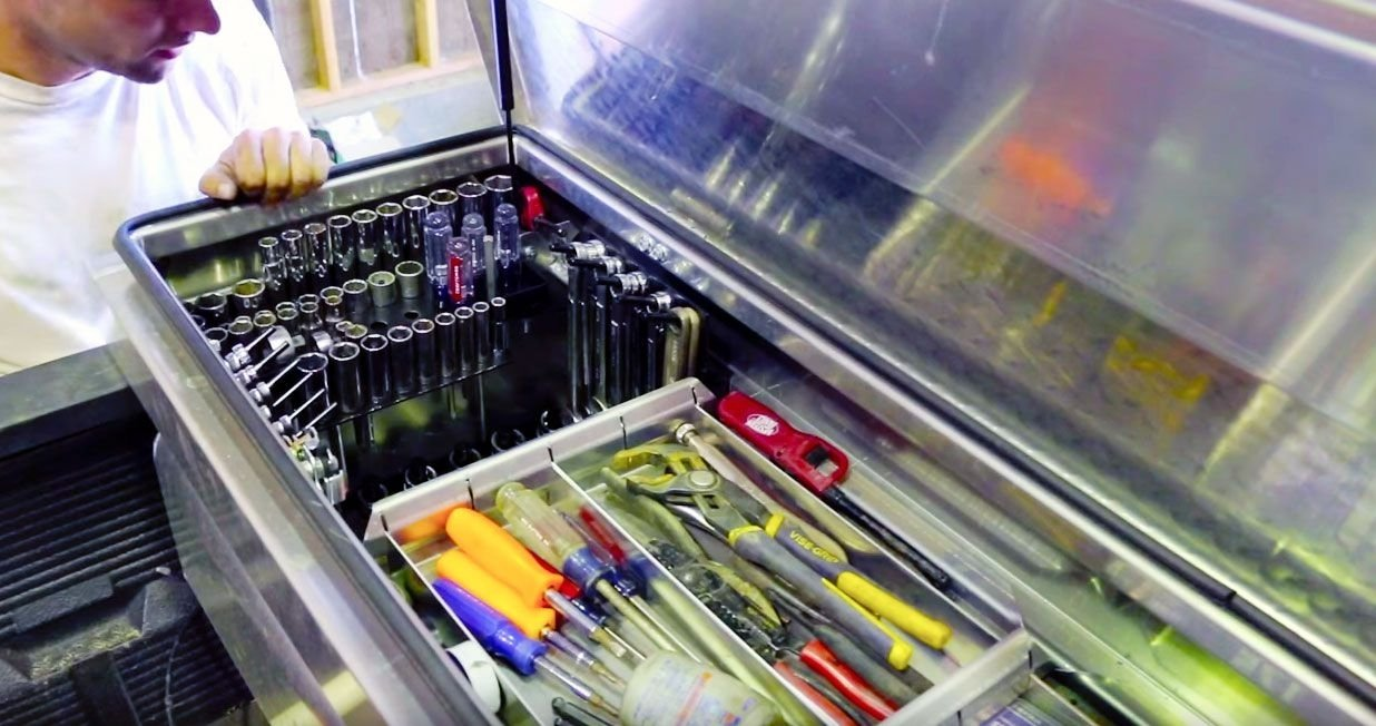 10 Fabulous Truck Tool Box Organization Ideas how to organize your truck box for easier access to tools 2021