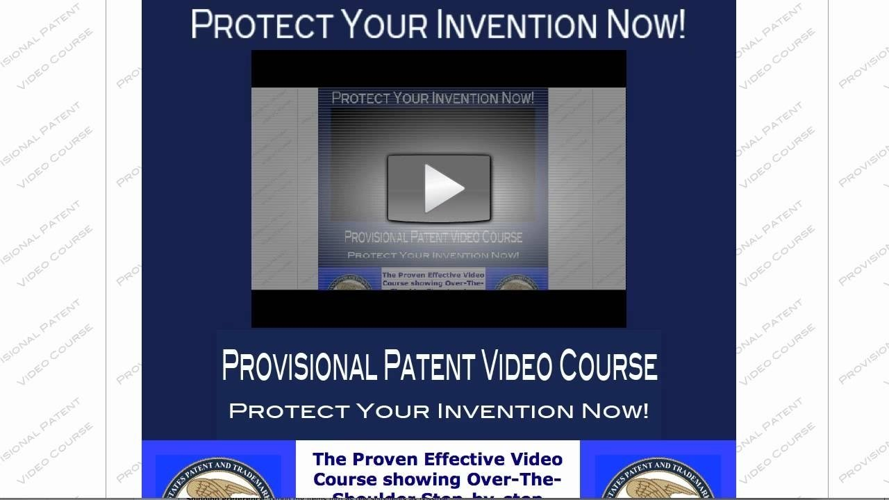 10 Perfect How To Patent An Idea Or Product how to patent your idea on your own youtube 1 2020