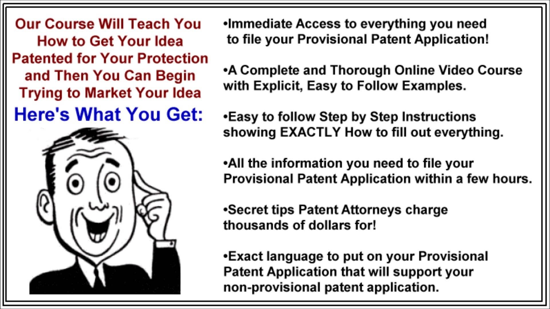 10 Awesome How Can I Patent An Idea how to patent your own idea get a patent without a lawyer youtube 1 2020