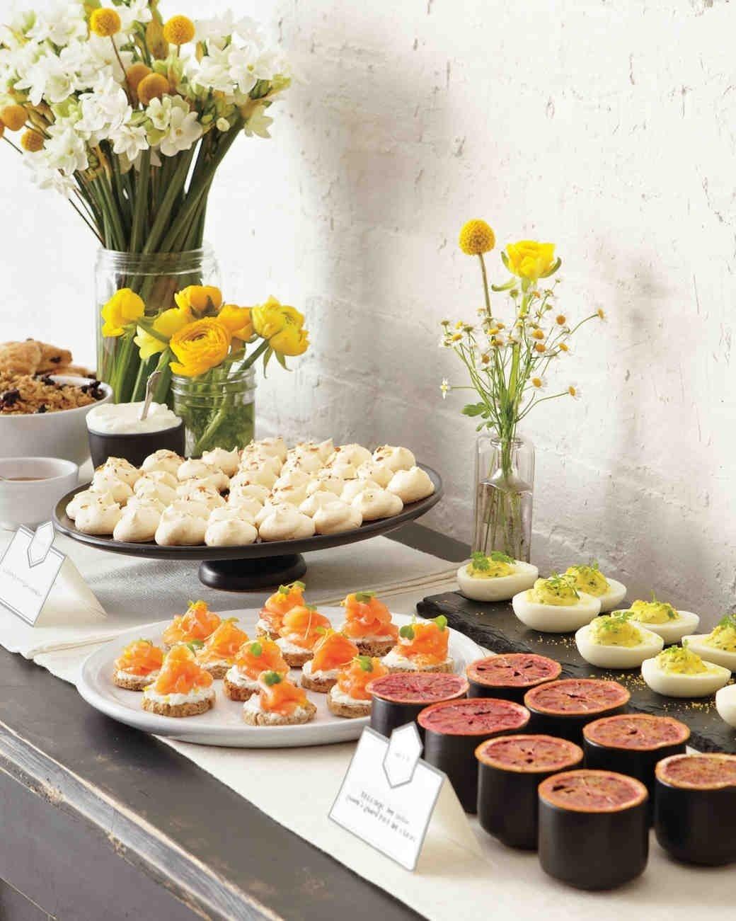 how to plan a bridal shower martha stewart weddings 50th wedding