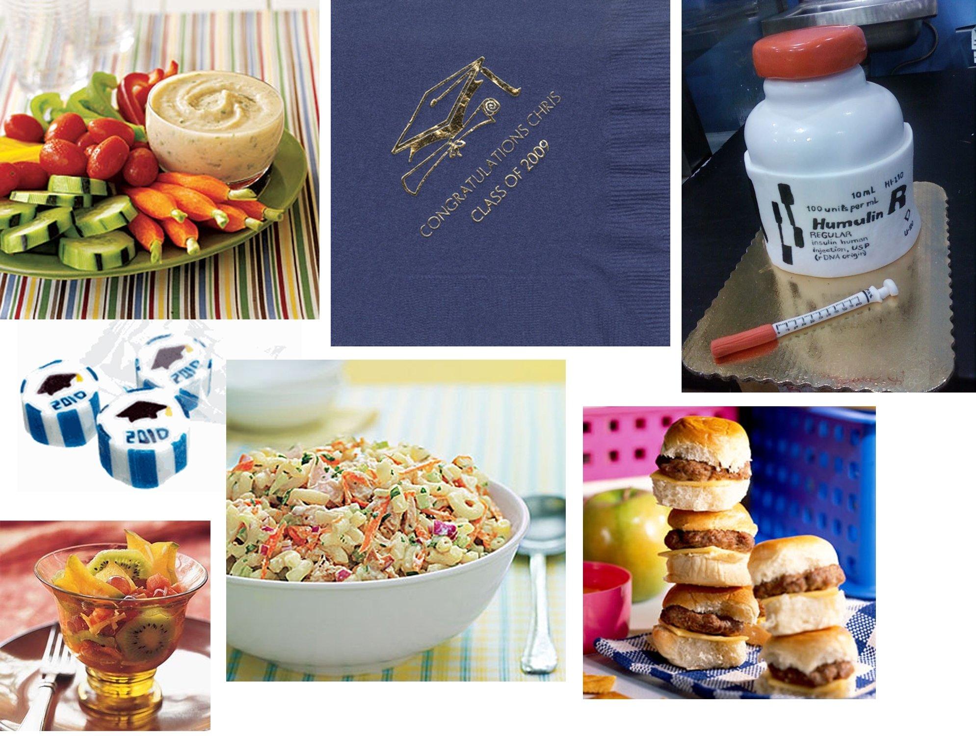 10 Fabulous Food Ideas For Graduation Party how to plan a graduation party doodles dabbles dreams 1
