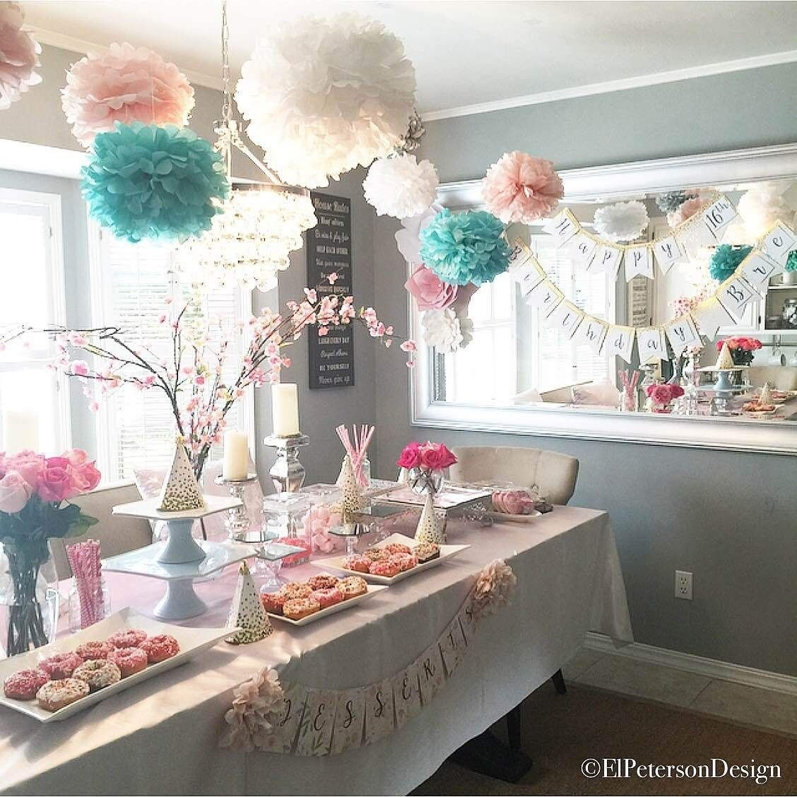 how to plan a teenage girls birthday party | elpetersondesign party