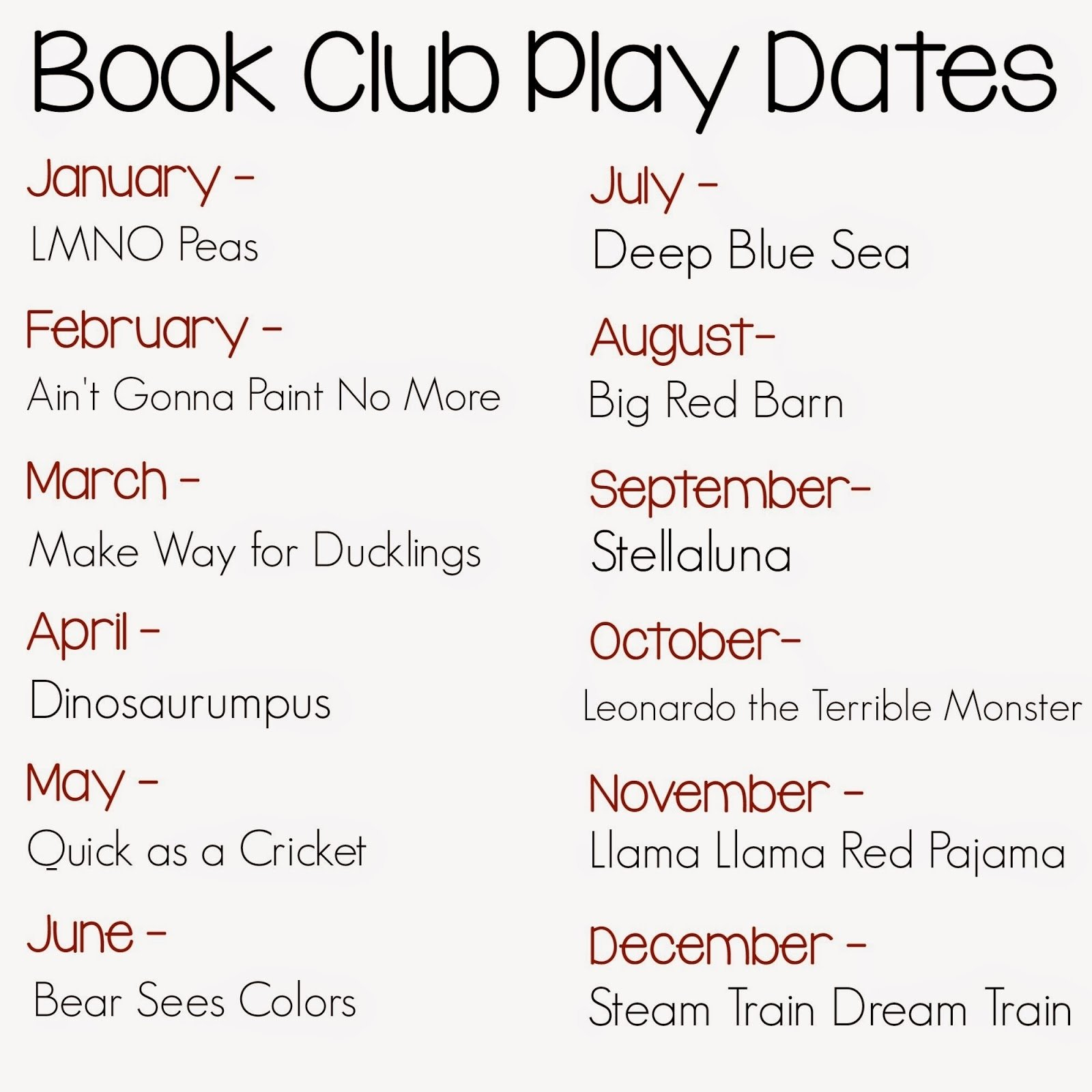 how to plan and host a book club play date for kids | still playing