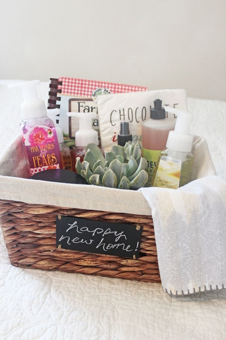 10 amazing new home gift basket ideas