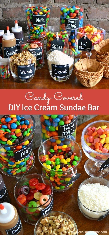10 Beautiful Ice Cream Sundae Bar Ideas how to set up a diy ice cream sundae bar diy ice cream bar and create 2020