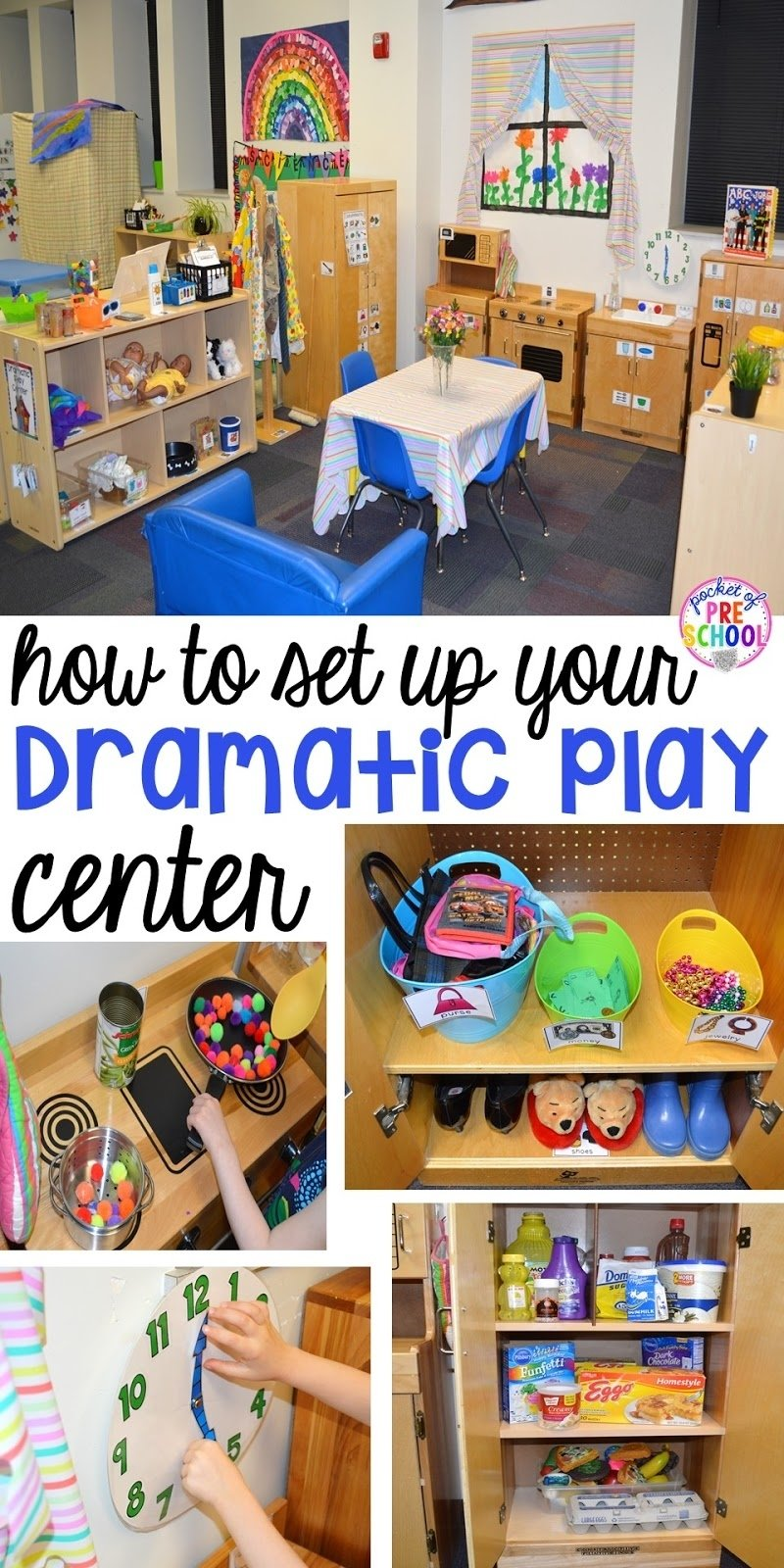 10 Lovely Dramatic Play Ideas For Preschoolers how to set up the dramatic play center in an early childhood 2