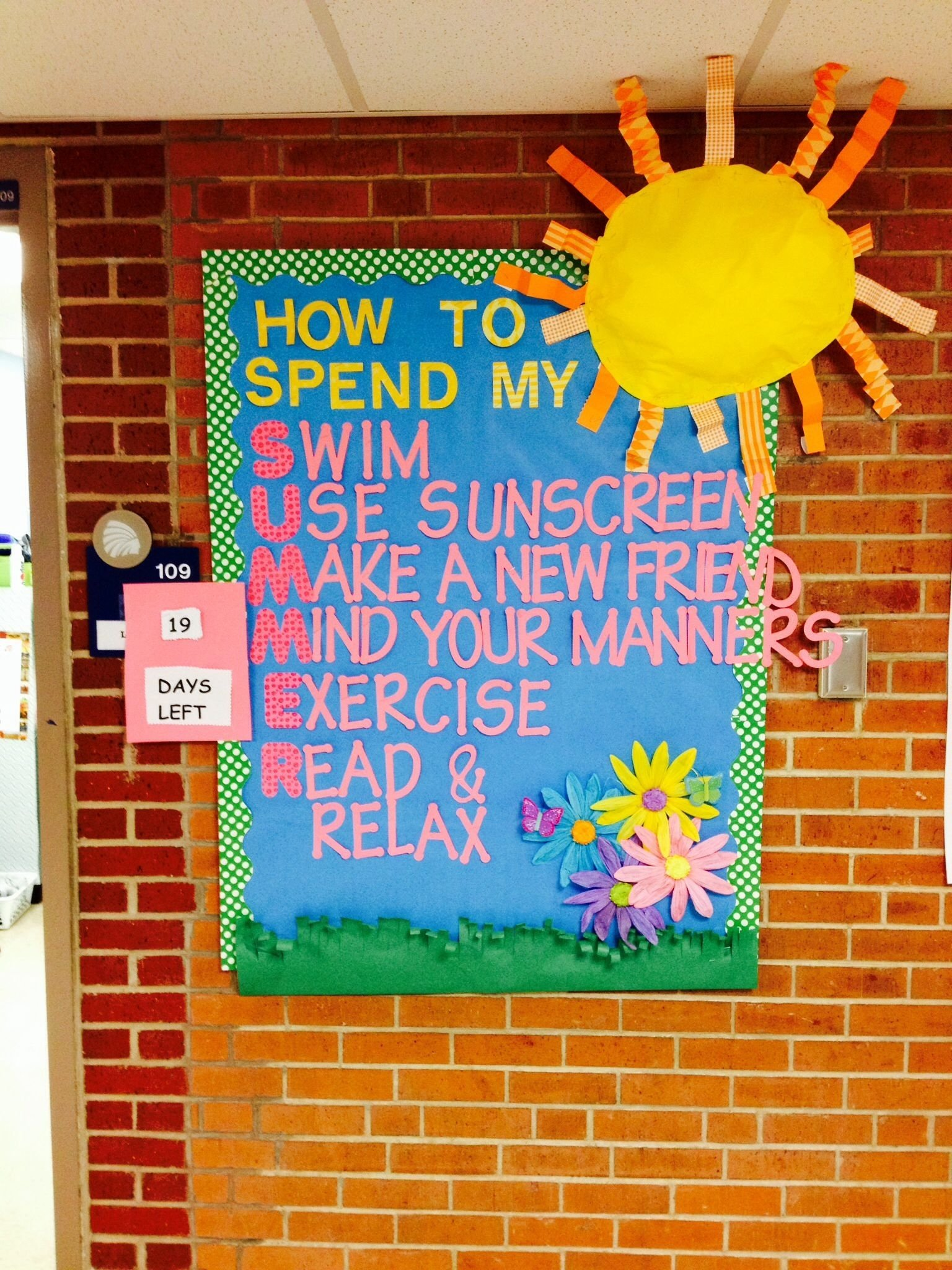 10 Unique School Nurse Bulletin Board Ideas how to spend my summer school bulletin board im now a school 2020