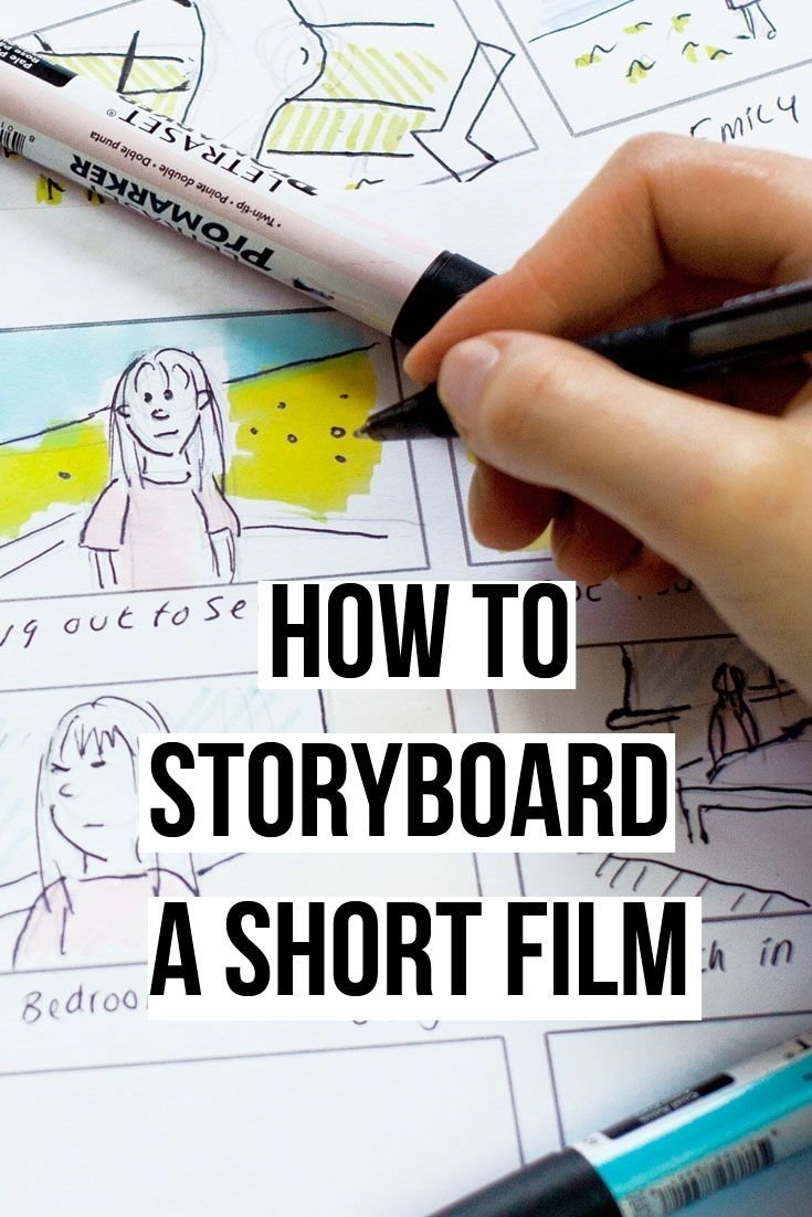 10 Unique Short Film Ideas For School how to storyboard a short film plus free template downloads to use
