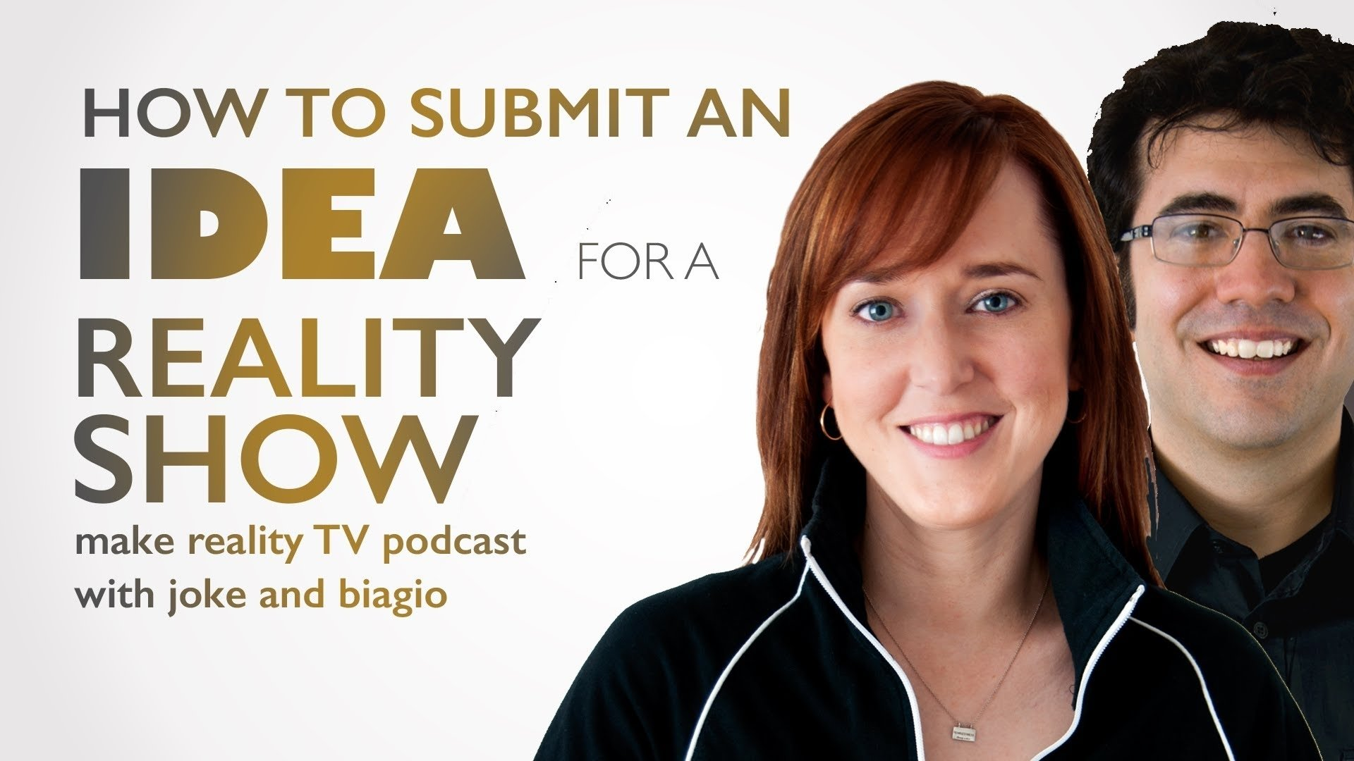 how to submit an idea for a reality tv show - youtube