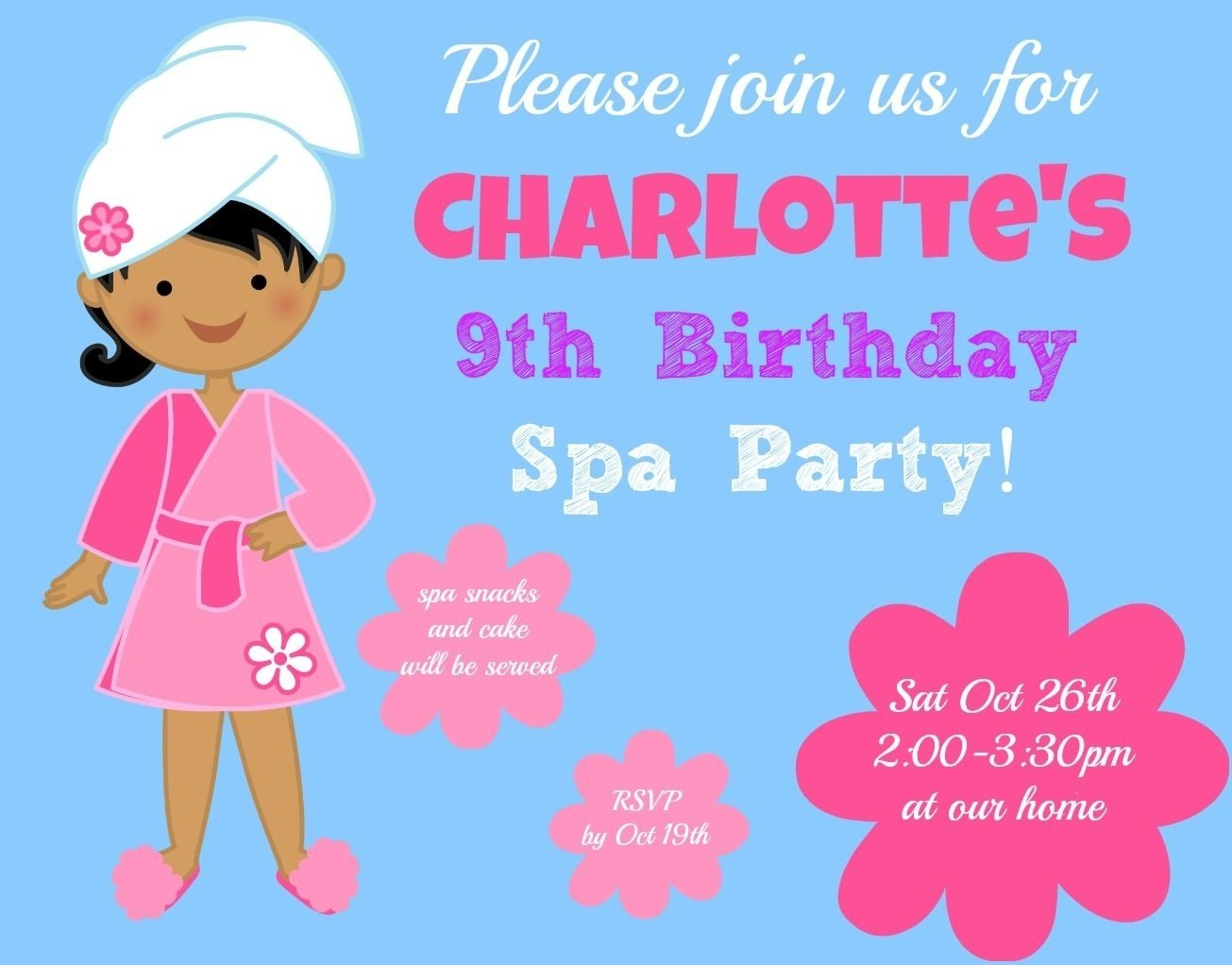 how to throw a spa birthday party for your tween! | spa birthday