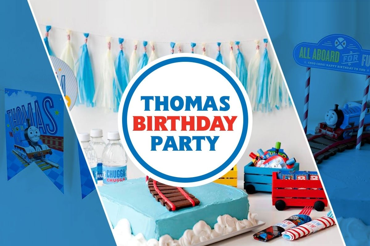 10 Lovely Thomas And Friends Birthday Ideas how to throw a thomas friends diy birthday party thomas friends 1 2021