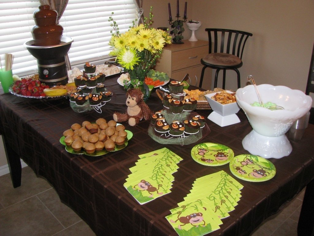 10 Most Popular Monkey Themed Baby Shower Ideas