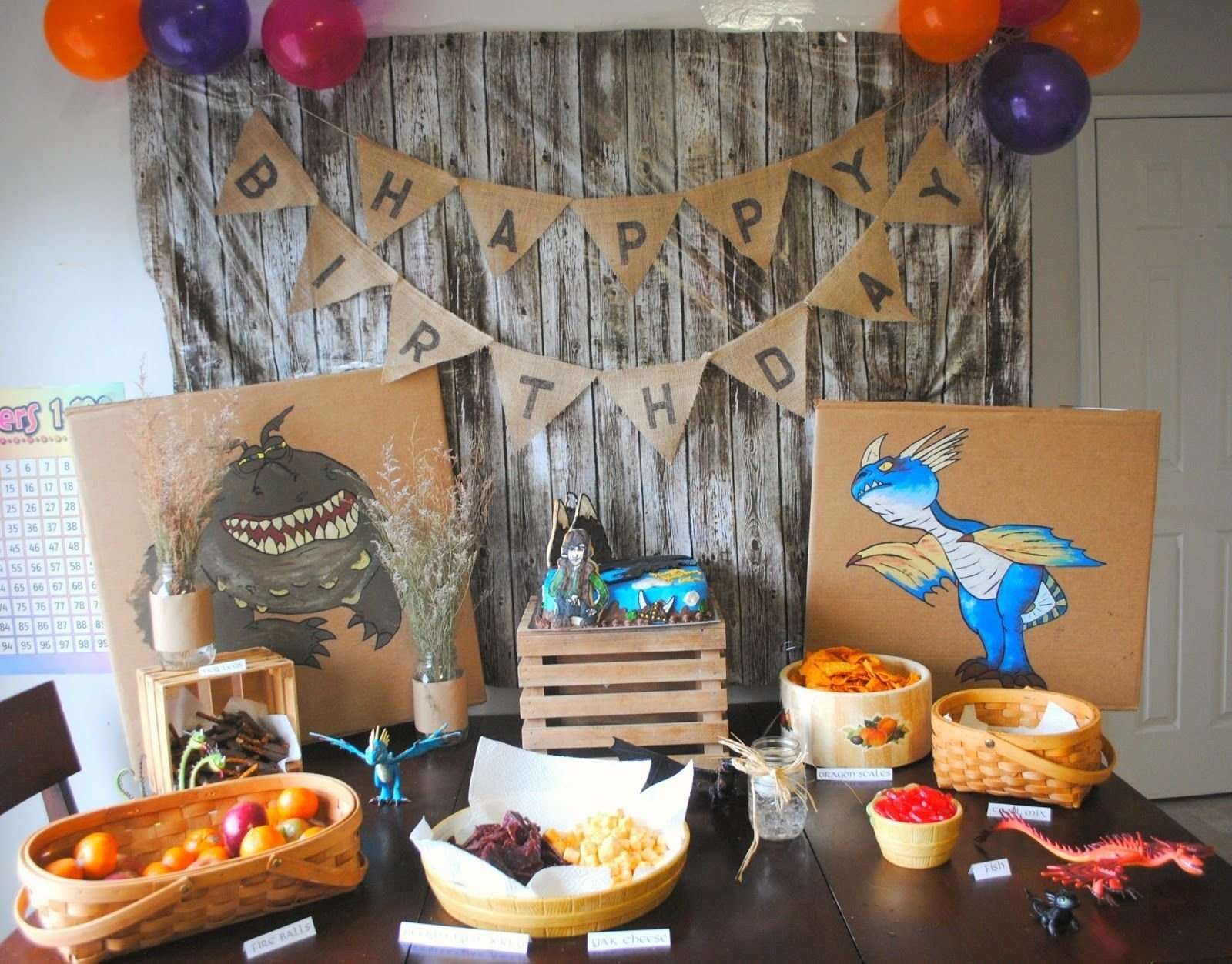 how to train your dragon birthday party | la party | pinterest