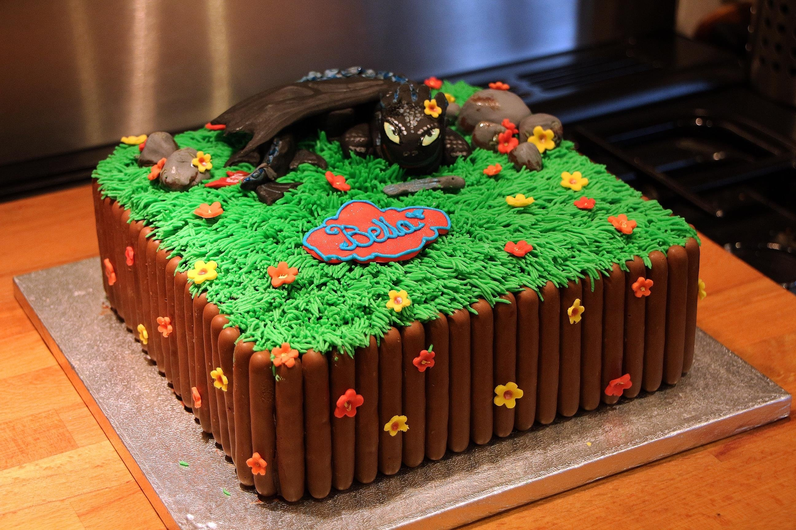 10 Most Recommended How To Train Your Dragon Cake Ideas how to train your dragon toothless cake 2020