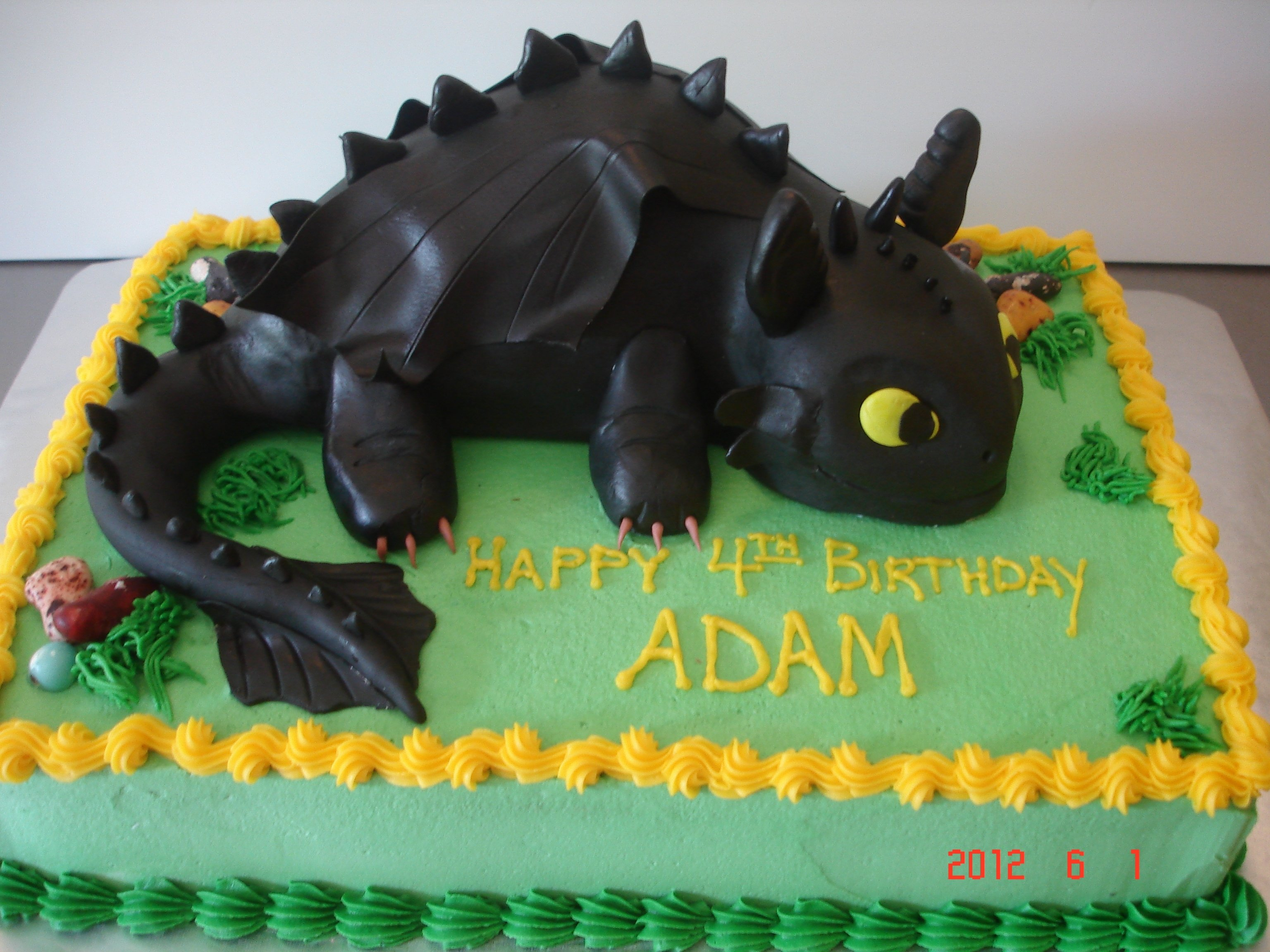 10 Most Recommended How To Train Your Dragon Cake Ideas how to train your dragon toothless st louis custom cakes 2020