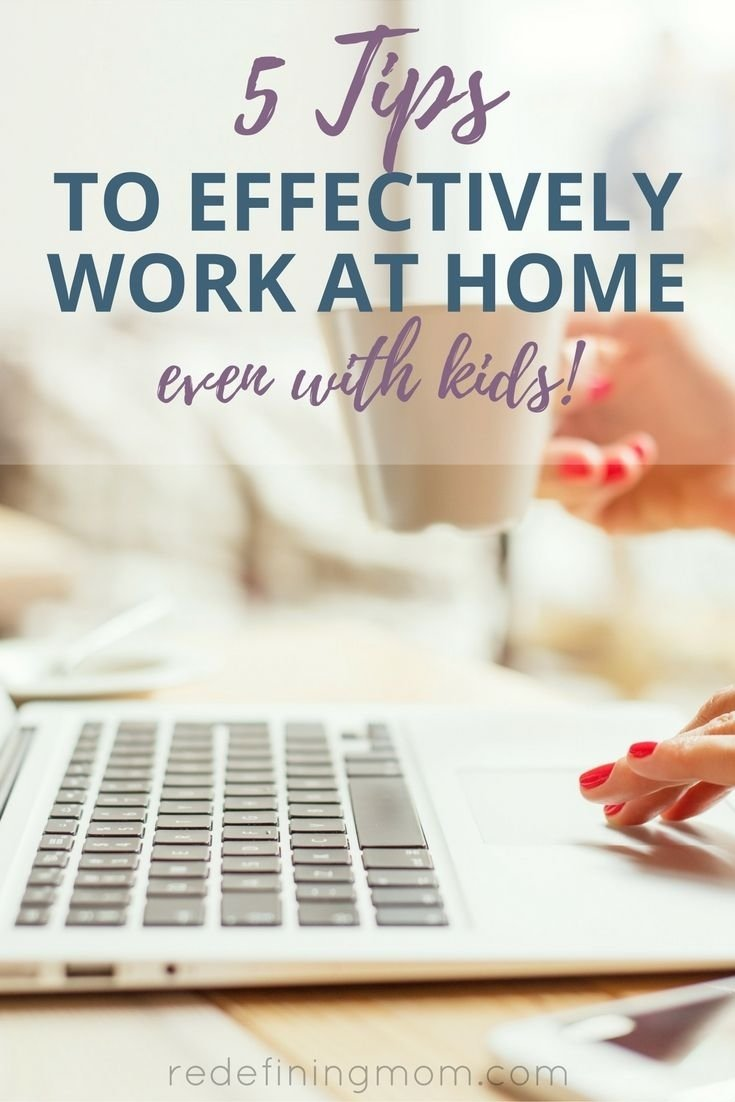 10 Fashionable Work From Home Ideas For Moms