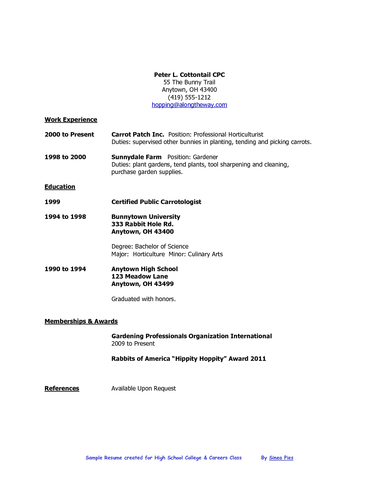 how to write a job resume for highschool student 4 high school ideas