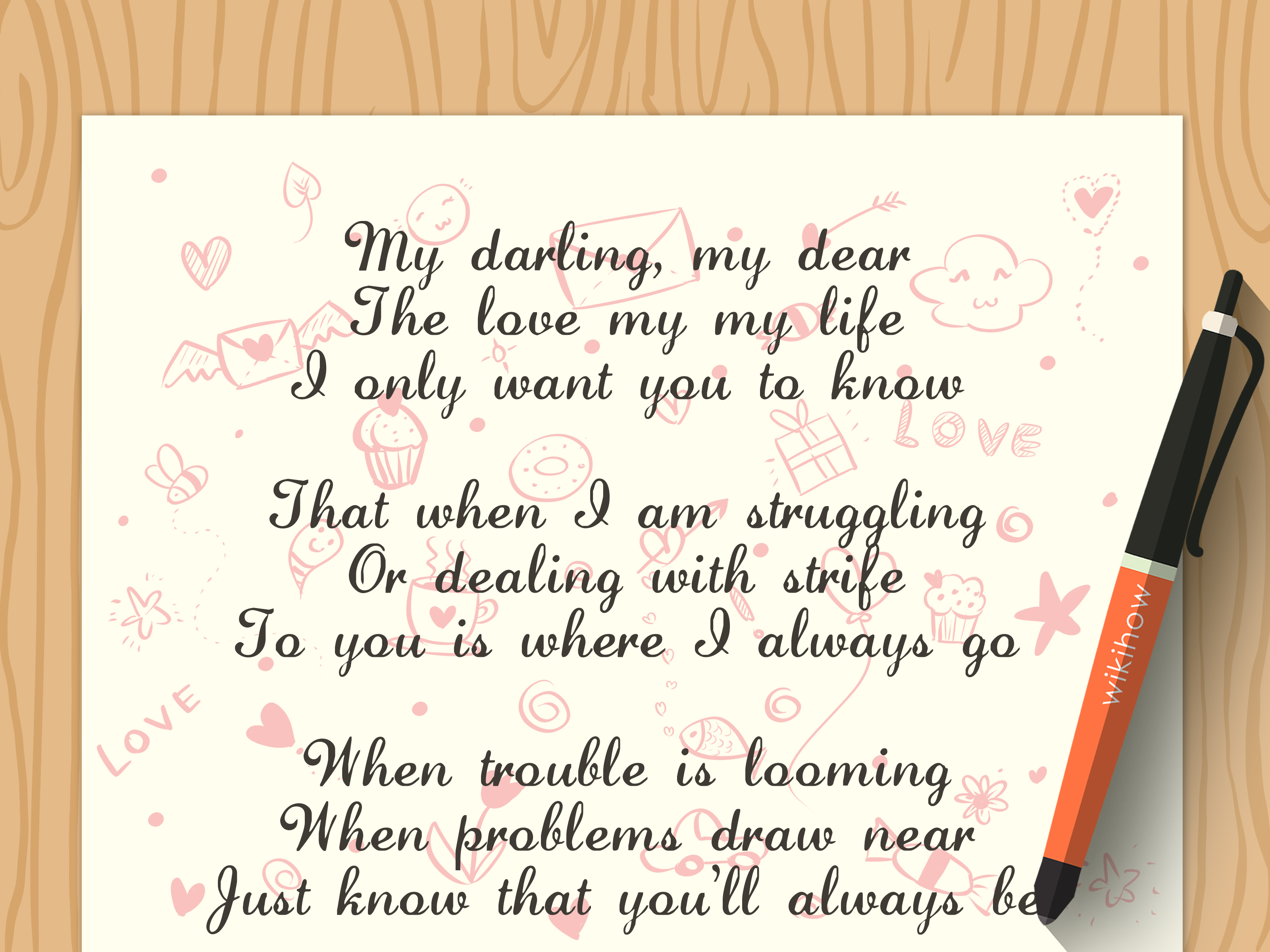 10 Perfect Good Poem Ideas To Write About how to write a love poem with example poems wikihow 2021