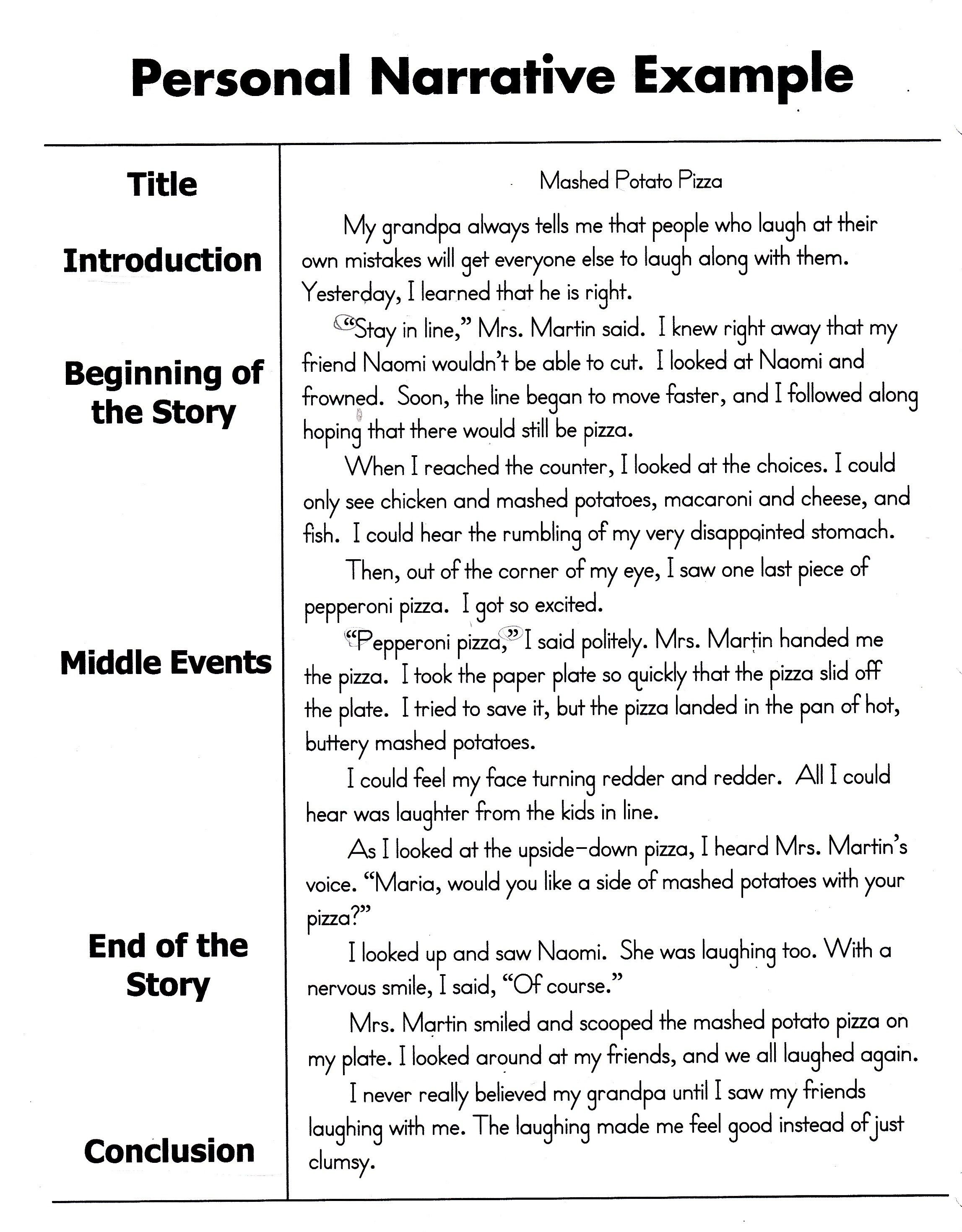 10 Stylish Ideas For A Narrative Essay how to write a personal narrative essay for 4th 5th grade oc 2020