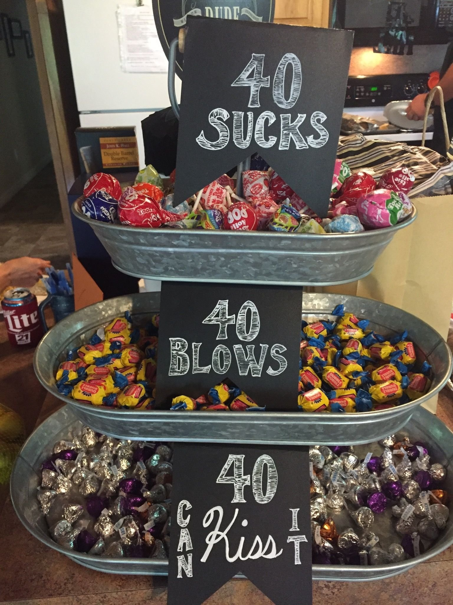 10 Attractive Creative 40Th Birthday Party Ideas https www birthdays durban but change the number to whatever 3