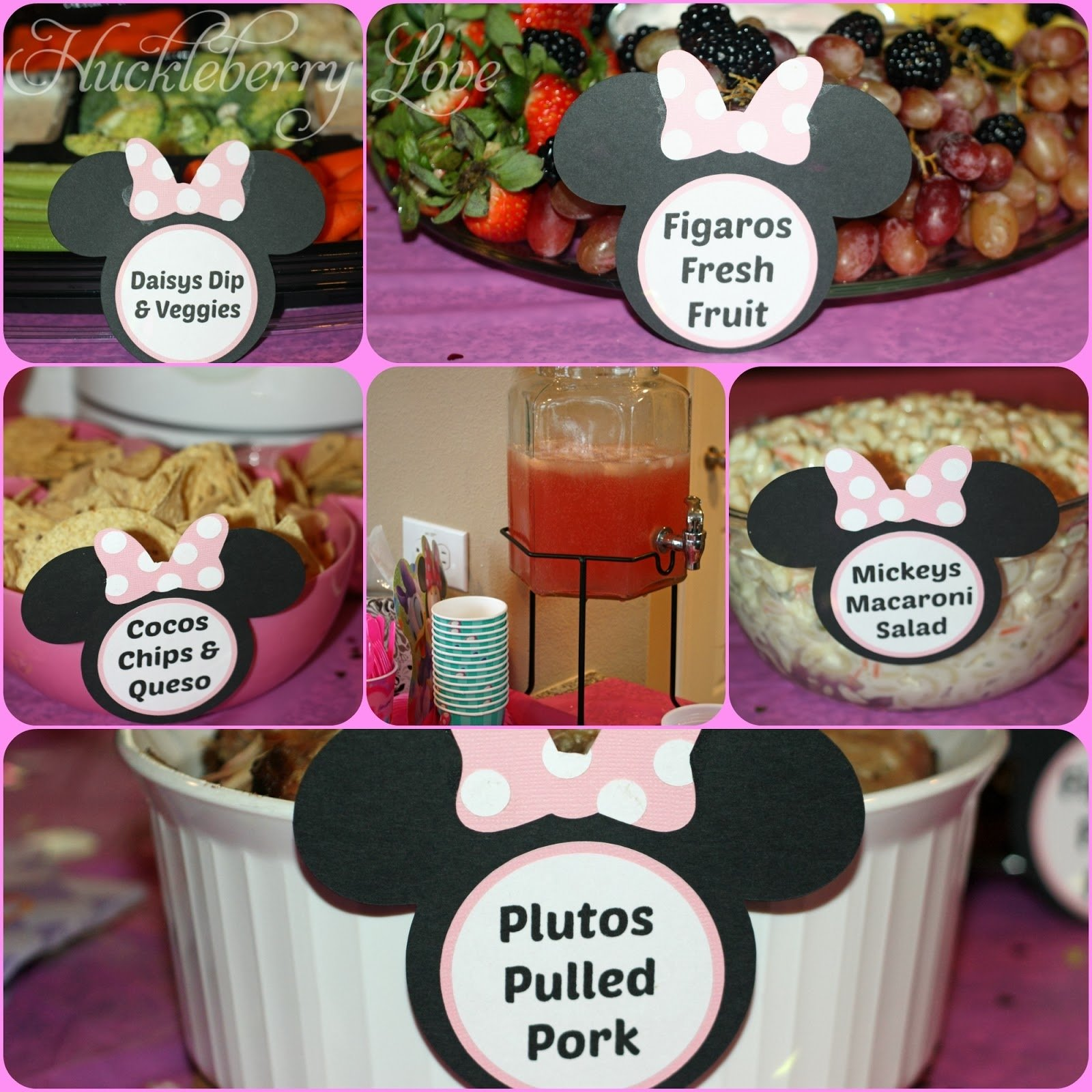 10 Fabulous Minnie Mouse Birthday Party Food Ideas huckleberry love a minnie mouse birthday party 2020