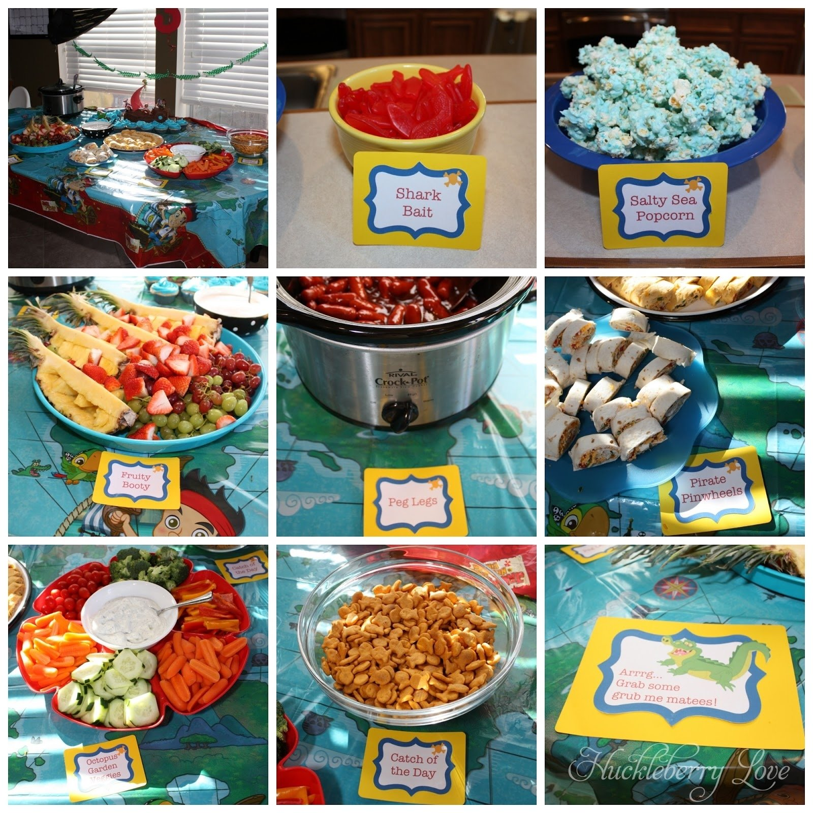 10 Stylish Pirate Birthday Party Food Ideas huckleberry love arrgh mateys pirate themed birthday party 2020