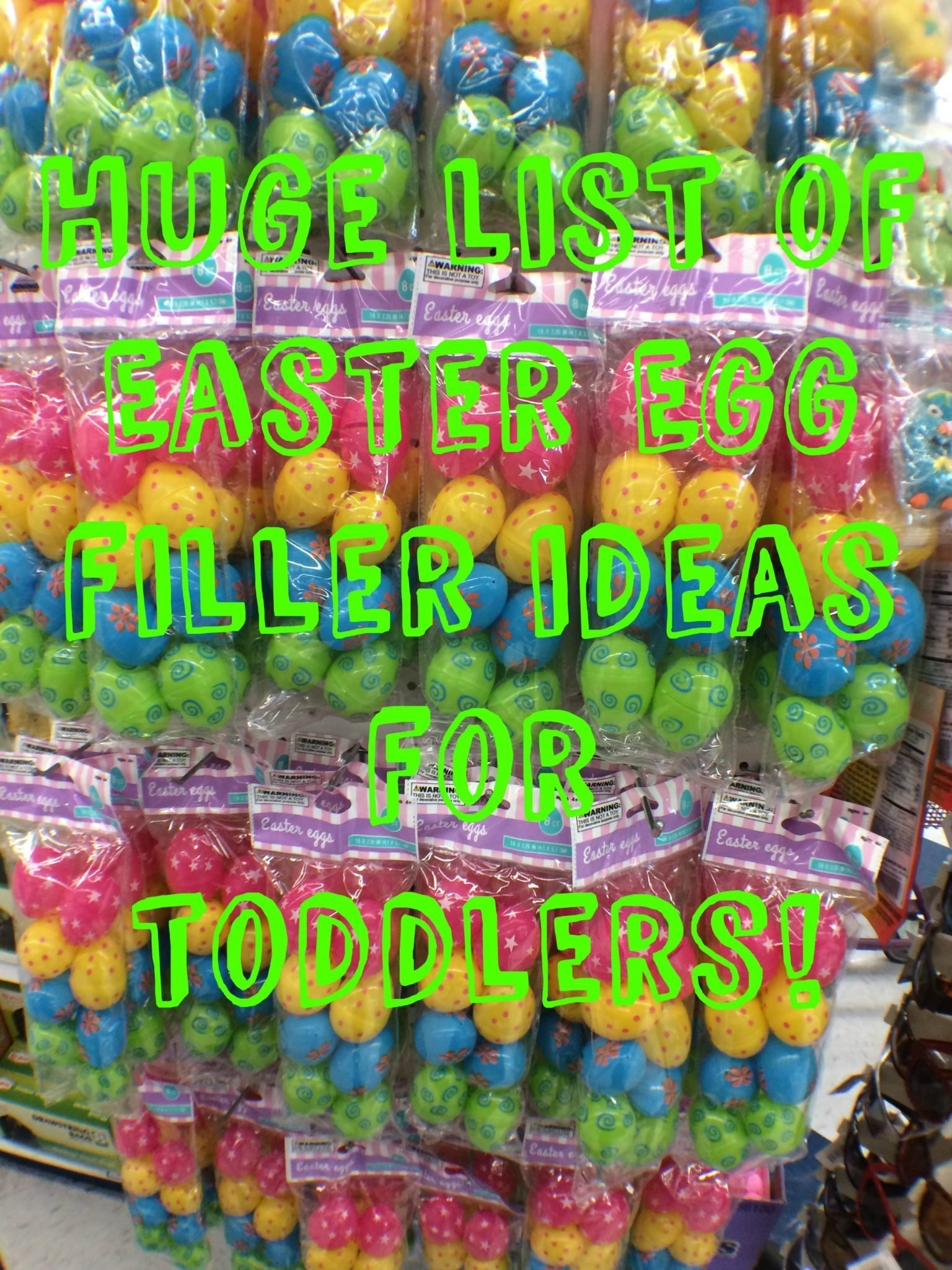 10 Elegant Easter Egg Ideas For Toddlers huge list of easter egg filler ideas for toddlers beansters bytes