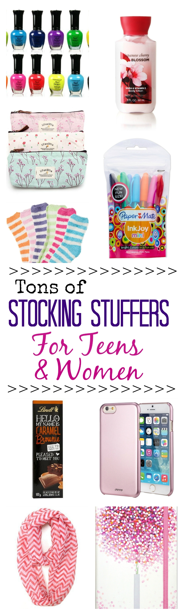 huge stocking stuffer ideas list - crazy little projects