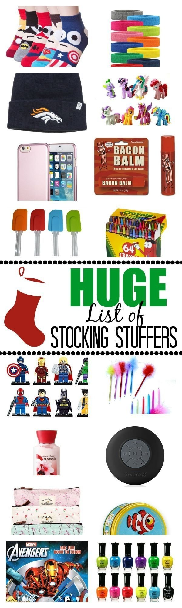 10 Spectacular Stocking Stuffer Ideas For Teenagers huge stocking stuffer ideas list fete noel fetes et noel 2020