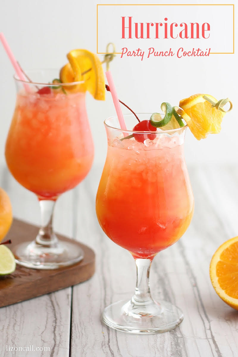 10 Lovely Cool Drink Ideas For Parties hurricane party punch recipe e280a2 bread booze bacon