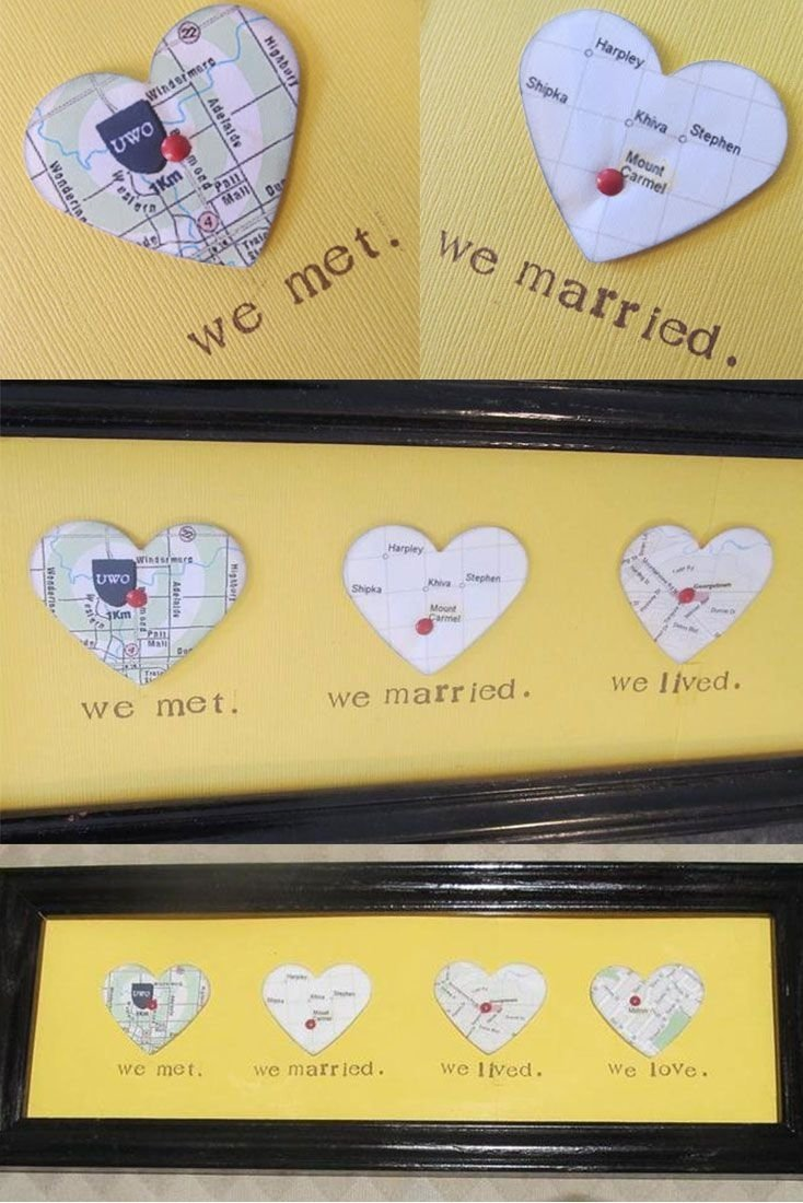 10 Fabulous Birthday Gift For Husband Ideas Idea Diy Picture Frame Pinteres 1