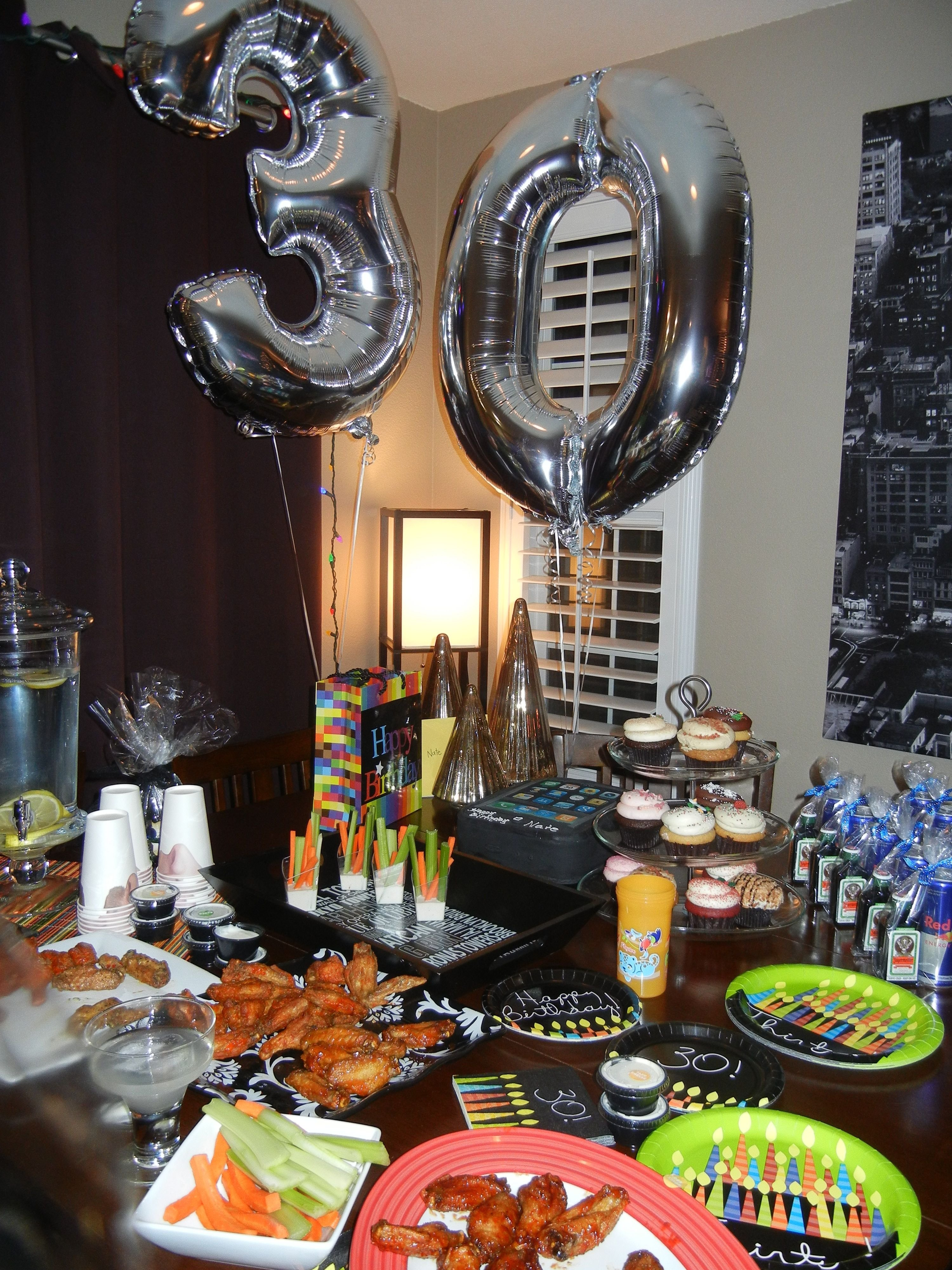 10 Lovable Ideas For 30Th Birthday Party For Him husbands 30th birthday my stuff pinterest 30 birthday 30th 13 2020